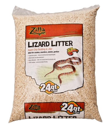 Zilla Bedding Lizard Litter 24qt Pick Up At Show Only