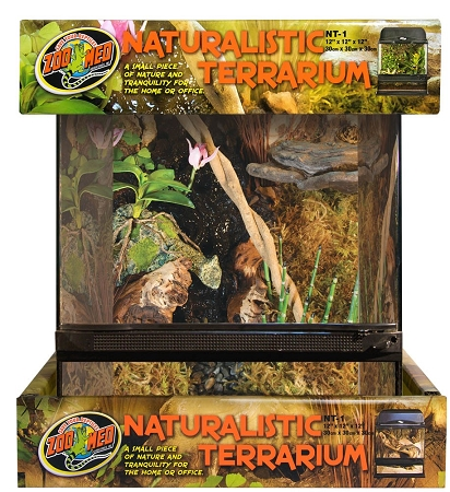 Zoo Med Naturalistic Terrarium 18inx18inx18in (PICK UP AT SHOW ONLY)