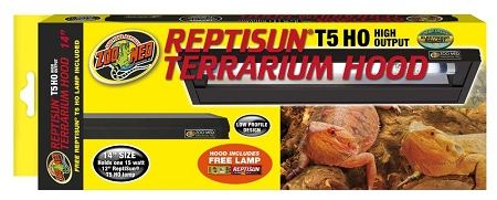 Zoo Med Reptisun T5 High Output Light Hood 14in