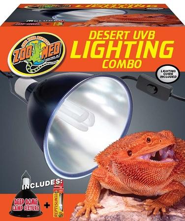 Zoo Med Desert Uvb Lighting Combo Pack