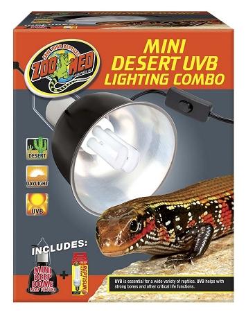 Zoo Med Mini Desert Uvb Lighting Combo Pack
