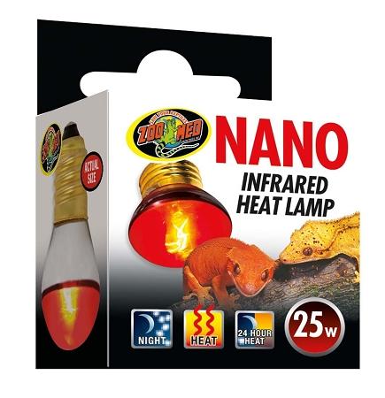 Zoo Med Nano Infrared Heat Lamp 25 Watt