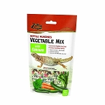 Zilla Reptile Munchies Vegetable Food Mix with Calcium 4oz