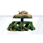 Zilla Freestanding Floating Basking Turtle Trunk