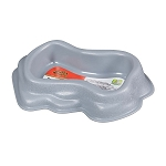 Zilla Durable Dish Grey Large