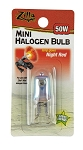 Zilla Halogen Mini Lamp Red 50W