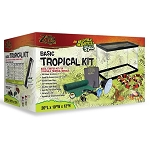 Zilla 10 Tropical Starter Kit 10gal 10x20x12 (PICK UP AT SHOW ONLY)