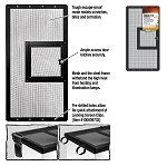 Zilla Fresh Air Screen Cover with Hinged Door 20X10 (PICK UP AT SHOW ONLY)