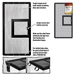 Zilla Fresh Air Screen Cover with Hinged Door 24X12 (PICK UP AT SHOW ONLY)