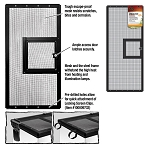 Zilla Fresh Air Screen Cover with Hinged Door 30X12 (PICK UP AT SHOW ONLY)