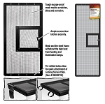 Zilla Fresh Air Screen Cover with Hinged Door 36X12 (PICK UP AT SHOW ONLY)
