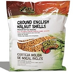 Zilla Ground English Walnut Shells 25qt (PICK UP AT SHOW ONLY)