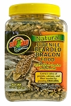 Zoo Med Natural Juvenile Bearded Dragon Food 10oz