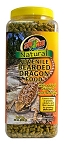 Zoo Med Natural Juvenile Bearded Dragon Food 20oz