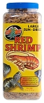 Zoo Med Sun Dried Red Shrimp Large 5oz