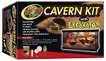 Zoo Med Cavern Kit with Excavator (PICK UP AT SHOW ONLY)