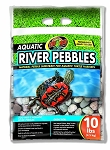 Zoo Med Aquatic River Pebbles 10lbs (PICK UP AT SHOW ONLY)