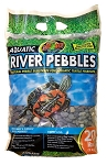 Zoo Med Aquatic River Pebbles 20lbs (PICK UP AT SHOW ONLY)