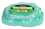 Zoo Med Glo-Bowl Glow in the Dark Combo Bowl Medium