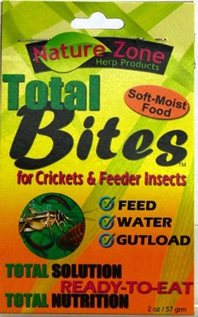 Nature Zone Cricket Total Bites with Spirulina 2oz