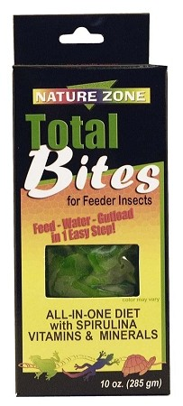 Nature Zone Cricket Total Bites with Spirulina 10oz