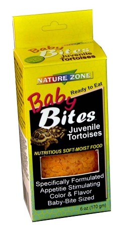 Nature Zone Baby Bite Tortoise Food 6oz