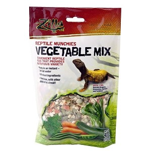 Zilla Reptile Munchies Vegetable Mix 4oz