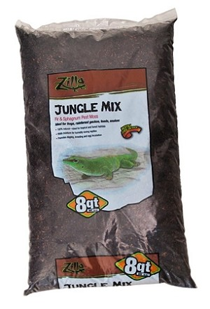 Zilla Bedding Jungle Mix 8qt  (PICK UP AT SHOW ONLY)