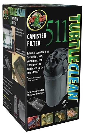 Zoo Med Turtle Clean 511 External Canister Filter