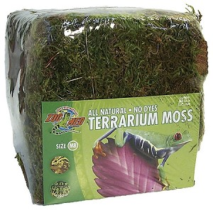 Zoo Med Terrarium Moss Mini Bale (PICK UP AT SHOW ONLY)