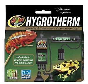 Zoo Med HygroTherm Thermostat and Humidistat 2 in 1
